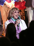 Phyllis Newman during the Curtain Call for the One Night Only 10th Anniversary Concert of 'The 25th Annual Putnam County Spelling Bee' at Town Hall on July 6, 2015 in New York City.