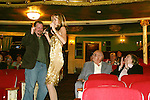 """AMC Bobbie Eakes goes into the audience to bring an audience member on stage = Jeff  - The Divas of Daytime TV (three great soap stars, two great ABC soaps and one great show) - """"A Great Night of Music and Comedy"""" on November 7, 2008 at the Mishler Theatre, Altoona, PA with meet and greet, autographs and photo ops. Portion of proceeds to benefit Altoona Mirror Season of Sharing. Mid-Life Productions Inc in association with Creative Entertainment presents this great show. (Photo by Sue Coflin/Max Photos)"""