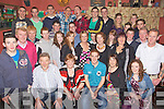Key to the Door - David Fitzell from Kilmoyley, seated centre having a ball with friends and family at his 21st birthday bash held in An Tocher Ban, Kilmoyley on Friday night.
