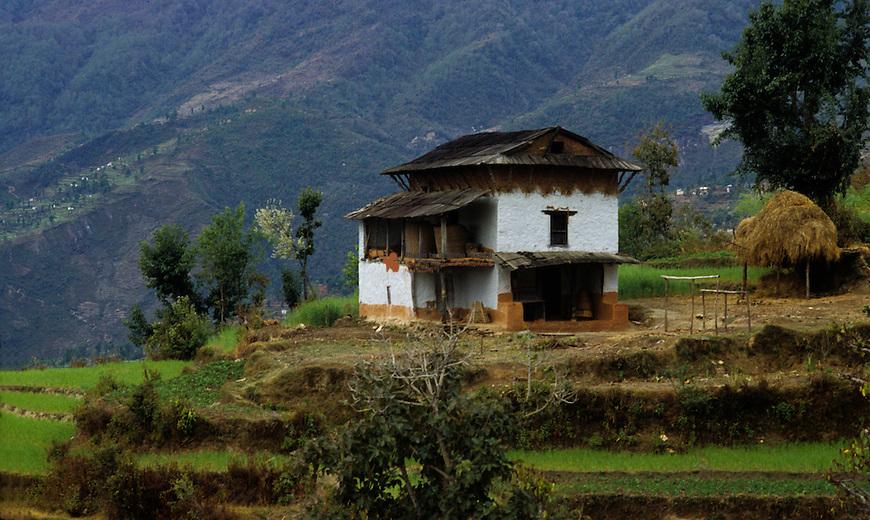 Farmer house in Nepal