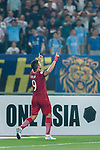 Shanghai FC Forward Elkeson De Oliveira Cardoso celebrates after scoring his goal during the AFC Champions League 2017 Round of 16 match between Jiangsu FC (CHN) vs Shanghai SIPG FC (CHN) at the Nanjing Olympic Stadium on 31 May 2017 in Nanjing, China. Photo by Marcio Rodrigo Machado / Power Sport Images