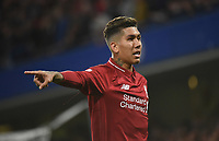 Roberto Firmino of Liverpool <br /> 29-09-2018 Premier League <br /> Chelsea - Liverpool<br /> Foto PHC Images / Panoramic / Insidefoto <br /> ITALY ONLY