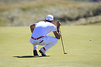 Haydn Porteous (RSA) on the 16th during Round 1 of the Dubai Duty Free Irish Open at Ballyliffin Golf Club, Donegal on Thursday 5th July 2018.<br /> Picture:  Thos Caffrey / Golffile
