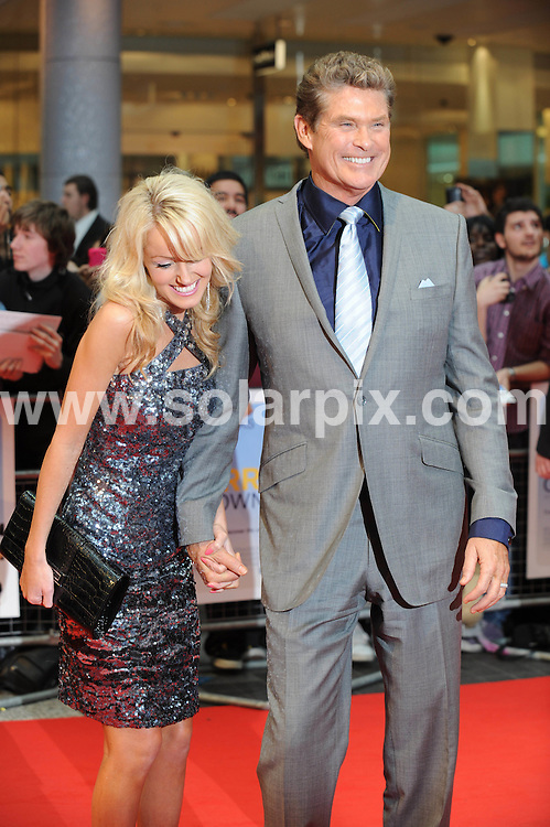 **ALL ROUND PICTURES FROM SOLARPIX.COM**                                             **WORLDWIDE SYNDICATION RIGHTS**                                                                                  Caption:The UK Premiere of Larry Crowne at Vue Westfield on June 6, 2011 in London, England.This Pic: Hayley Roberts and David Hasselhoff                                                                               JOB REF:13513       LNJ       DATE: 06.06.2011                                                           **MUST CREDIT SOLARPIX.COM OR DOUBLE FEE WILL BE CHARGED**                                                                      **MUST AGREE FEE BEFORE ONLINE USAGE**                               **CALL US ON: +34 952 811 768 or LOW RATE FROM UK 0844 617 7637**