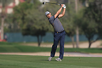 Martin Kaymer (GER) on the 3rd fairway during Round 4 of the Omega Dubai Desert Classic, Emirates Golf Club, Dubai,  United Arab Emirates. 27/01/2019<br /> Picture: Golffile | Thos Caffrey<br /> <br /> <br /> All photo usage must carry mandatory copyright credit (&copy; Golffile | Thos Caffrey)