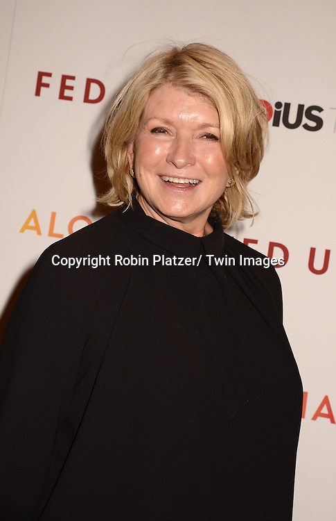"Martha Stewart attends the New York Premiere of ""FED UP"" on May 6, 2014 at The Museum of Modern Art in New York City."