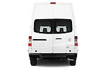 Straight rear view of a 2013 Nissan NV 2500 High Roof V8 S Cargo Van