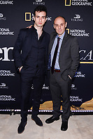 NEW YORK CITY - APRIL 20: Christian Lopez Lamelas and Alvaro Ramos attend the National Geographic GENIUS: PICASSO Tribeca Film Festival after party at The Genius Studio, 100 Avenue of the Americas, in New York City on April 20, 2018 in New York City.  The Genius: Studio is an interactive installation designed to inspire people to create their own masterpieces. (Photo by Anthony Behar/National Geographic/PictureGroup)