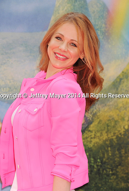 BURBANK, CA- MARCH 22: Actress Maitland Ward attends the premiere of DisneyToon Studios' 'The Pirate Fairy' at Walt Disney Studios on March 22, 2014 in Burbank, California.