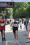 Mary Laverty was the first lady home in the Ardee 10k run at the Turfman festival. Photo: Colin Bell/pressphotos.ie