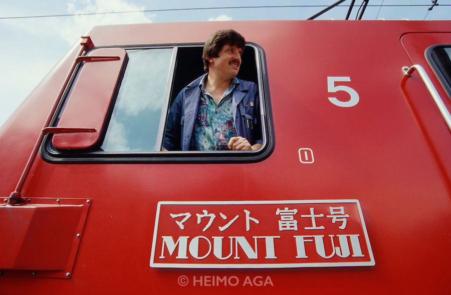 A locomotive of the Glacier Express is named Mount Fuji in honour of the many Japanese passengers.