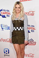 Louisa Johnson<br /> at the Jingle Bell Ball 2016, O2 Arena, Greenwich, London.<br /> <br /> <br /> &copy;Ash Knotek  D3208  03/12/2016