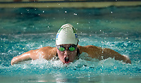 Nes Tulane, St. Pat&rsquo;s Fighting Irish, 100 meter individual medley.<br /> <br /> Approximately 90 swimmers hit the water on Thurs. Jan. 17 at the YMCA Sarnia to compete in the  LKSSAA Swimming Championships. The Fighting Irish won their 5th Overall Team Title in addition to  the Overall Girls and Overall Boys Title.  The winner of each event and those meeting the qualifying standard during the season will compete at the SWOSSAA Swimming Championships on Thursday, Feb. 21 in Windsor.  OFSAA will be held in Toronto on March 5 and 6
