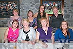 Retirement Party: Carmel Fitzgerald celebrating her retirement from Glin Pharmacy with friends at Behan's Restaurant at THe Horshoe Bar, Listowel on Saturday night last. Front : Glencora Harbour, Carmel Fitzgerald, Aileen Kelly & Michaela Fennell. Back : Christina Kissane, Tersa ni mHochain, Sarah Walsh & Gabriella Husz.