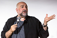 13th July 2019: Comedian and film star Omid Djalili plays day 1 of the 2019 Comedy Crate Festival in Northampton
