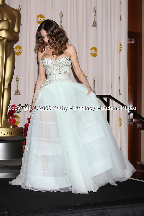 Sarah Jessica Parker  in the 81st Academy Awards Press Room at the Kodak Theater in Los Angeles, CA  on.February 22, 2009.©2009 Kathy Hutchins / Hutchins Photo...                .