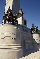 Springfield, IL, Abraham Lincoln, Illinois, The Lincoln Tomb at Oak Ridge Cemetery in Springfield.