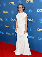 LOS ANGELES, USA. January 25, 2020: Nicole Kassell at the 72nd Annual Directors Guild Awards at the Ritz-Carlton Hotel.<br /> Picture: Paul Smith/Featureflash