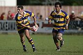 B. Batten & S. Feloko. Counties Manukau Premier Club Rugby, Waiuku vs Patumahoe played at Rugby Park, Waiuku on the 8th of April 2006. Waiuku won 18 - 15