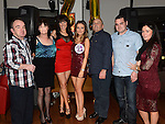 Christina Mackin celebrating her 21st birthday in Brú with parents Tosh and Caroline, sister Tanya, brother Joseph and girlfriend Caroline and uncle Jimmy Mackin. Photo: Colin Bell/pressphotos.ie