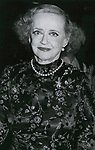Bette Davis on September 3, 1981 in Los Angeles, California