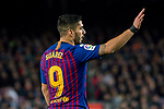 Luis Alberto Suarez Diaz of FC Barcelona reacts during the La Liga 2018-19 match between FC Barcelona and RC Celta de Vigo at Camp Nou on 22 December 2018 in Barcelona, Spain. Photo by Vicens Gimenez / Power Sport Images