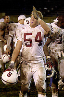 Brian Gaffney during Stanford's 41-14 win over San Jose State on December 1, 2001 at Spartan Stadium in San Jose, CA.<br />Photo credit mandatory: Gonzalesphoto.com