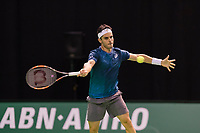 Rotterdam, Netherlands, 10 februari, 2018, Ahoy, Tennis, ABNAMROWTT, Qualifier, Thobias Fabianno (ITA)<br /> Photo: Henk Koster/tennisimages.com