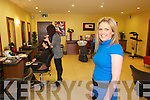 Tina Goodall proprietor at Aspire Hair Solutions in.Manor Village in Tralee.