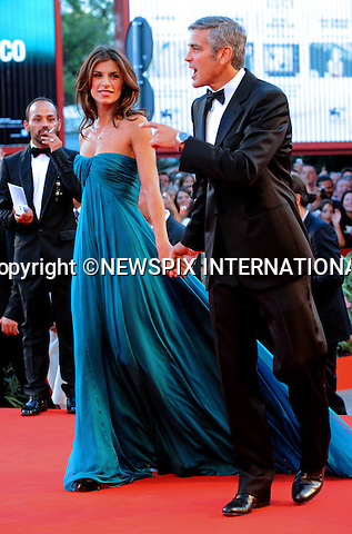 "GEORGE CLOONEY AND ELISABETTA CANALIS.""The Men Who Stare at Goats"" premiere at the  66th Venice Film Festival , Venice_08/09/2009.Mandatory Credit Photo: ©NEWSPIX INTERNATIONAL..**ALL FEES PAYABLE TO: ""NEWSPIX INTERNATIONAL""**..IMMEDIATE CONFIRMATION OF USAGE REQUIRED:.Newspix International, 31 Chinnery Hill, Bishop's Stortford, ENGLAND CM23 3PS.Tel:+441279 324672  ; Fax: +441279656877.Mobile:  07775681153.e-mail: info@newspixinternational.co.uk"