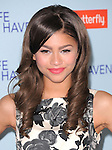 Zendaya Coleman at The Relativity Media US Premiere of Safe Haven held at The Grauman's Chinese Theater in Hollywood, California on February 05,2013                                                                   Copyright 2013 Hollywood Press Agency