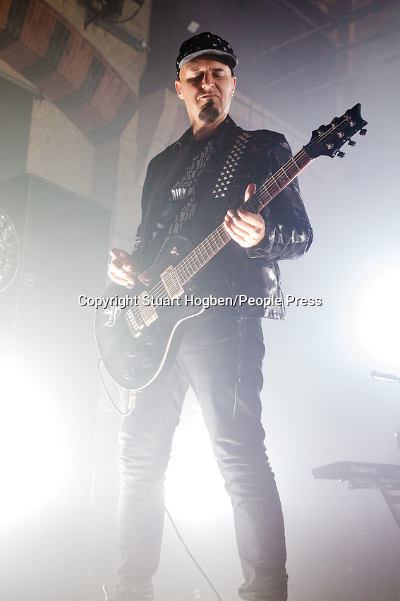 "28th August 2019: English rock band Skunk Anansie play The Corn Exchange, Cambridge - Deborah ""Skin"" Dyer - lead vocals, guitar<br /> Martin ""Ace"" Kent - guitar, backing vocals<br /> Richard ""Cass"" Lewis - bass, guitar, backing vocals<br /> Mark Richardson - drums, percussion, backing vocals"