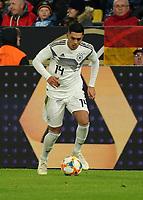 Nadiem Amiri (Deutschland Germany) - 09.10.2019: Deutschland vs. Argentinien, Signal Iduna Park, Freunschaftsspiel<br /> DISCLAIMER: DFB regulations prohibit any use of photographs as image sequences and/or quasi-video.