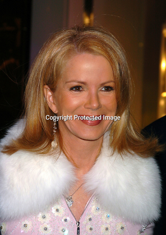 Blaine Trump ..at the opening of Asprey in New York city on December 8, 2003. Photo by Robin Platzer, Twin Images