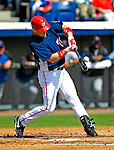 4 March 2009: Washington Nationals' left fielder Josh Willingham in action during a Spring Training game against the New York Mets at Space Coast Stadium in Viera, Florida. The Nationals rallied to defeat the Mets 6-4 . Mandatory Photo Credit: Ed Wolfstein Photo