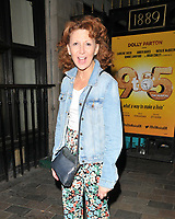"""AUG 03 Bonnie Langford at the """"9 To 5 The Musical"""" theatre stage door, London. UK"""
