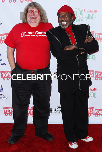 HOLLYWOOD, CA - DECEMBER 01: Bruce Vilanch, Ben Vereen arriving at the 82nd Annual Hollywood Christmas Parade held at Hollywood Boulevard on December 1, 2013 in Hollywood, California. (Photo by Xavier Collin/Celebrity Monitor)