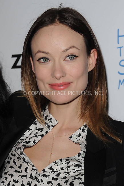 WWW.ACEPIXS.COM . . . . . .March 4, 2013...New York City....Olivia Wilde attends the Half the Sky Movement: The Game Launch at No. 8 on March 4, 2013 in New York City. ....Please byline: KRISTIN CALLAHAN - WWW.ACEPIXS.COM.. . . . . . ..Ace Pictures, Inc: ..tel: (212) 243 8787 or (646) 769 0430..e-mail: info@acepixs.com..web: http://www.acepixs.com .
