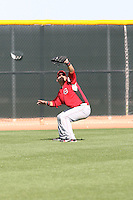 Yonder Alonso, Cincinnati Reds, 2010 minor league spring training..Photo by:  Bill Mitchell/Four Seam Images.