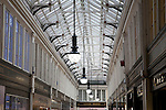 Roof of the Argyll Shopping Arcade in Glasgow, Scotland