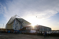 A general view of Elland Road, home of Leeds United FC<br /> <br /> Photographer Alex Dodd/CameraSport<br /> <br /> The EFL Sky Bet Championship - Leeds United v Hull City - Saturday 29th December 2018 - Elland Road - Leeds<br /> <br /> World Copyright © 2018 CameraSport. All rights reserved. 43 Linden Ave. Countesthorpe. Leicester. England. LE8 5PG - Tel: +44 (0) 116 277 4147 - admin@camerasport.com - www.camerasport.com