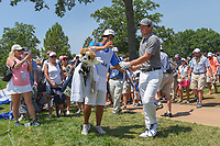 Rory McIlroy (NIR) heads to the green on 8 during 3rd round of the 100th PGA Championship at Bellerive Country Club, St. Louis, Missouri. 8/11/2018.<br /> Picture: Golffile | Ken Murray<br /> <br /> All photo usage must carry mandatory copyright credit (&copy; Golffile | Ken Murray)