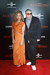 "Actor Vincent Pastore and guest arrives on the red-carpet for the Tyler Perry""s ACRIMONY movie premiere at the School of Visual Arts Theatre in New York City, on March 27, 2018."