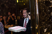 Ambassador Mark Green (R) arrives  at Trump Tower in Manhattan, New York, U.S., on Thursday, January 12, 2017. <br /> Credit: John Taggart / Pool via CNP