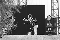 Rory Mcilroy (NIR) in action on the 13th hole during second round at the Omega European Masters, Golf Club Crans-sur-Sierre, Crans-Montana, Valais, Switzerland. 30/08/19.<br /> Picture Stefano DiMaria / Golffile.ie<br /> <br /> All photo usage must carry mandatory copyright credit (© Golffile | Stefano DiMaria)