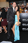 Channing Tatum & Jenna Dewan Tatum at The Paramount Pictures' G.I. JOE: THE RISE OF COBRA Los Angeles Special Screening held at The Grauman's Chinese Theatre in Hollywood, California on August 06,2009                                                                   Copyright 2009 DVS / RockinExposures