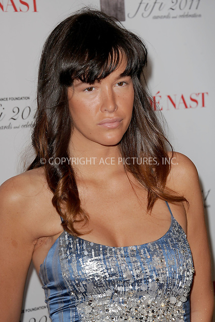 WWW.ACEPIXS.COM . . . . . .May 25, 2011...New York City...Paz de la Huerta attends the 2011 FiFi Awards at The Tent at Lincoln Center on May 25, 2011 in New York City.....Please byline: KRISTIN CALLAHAN - ACEPIXS.COM.. . . . . . ..Ace Pictures, Inc: ..tel: (212) 243 8787 or (646) 769 0430..e-mail: info@acepixs.com..web: http://www.acepixs.com .