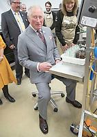 08 April 2019 - UK - Prince Charles Prince of Wales during a visit to the Hawkshead Relish Company in Hawkshead, Cumbria. Photo Credit: ALPR/AdMedia