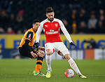 Olivier Giroud of Arsenal - English FA Cup - Hull City vs Arsenal - The KC Stadium - Hull - England - 8th March 2016 - Picture Simon Bellis/Sportimage