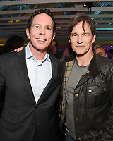 LOS ANGELES, CA - FEBRUARY 6:  Matt Nix and cast member Stephen Moyer attend the FOX Winter TCA 2019 All Star Party at The Fig House on February 6, 2019 in Los Angeles, California. (Photo by Stewart Cook/Fox/PictureGroup)